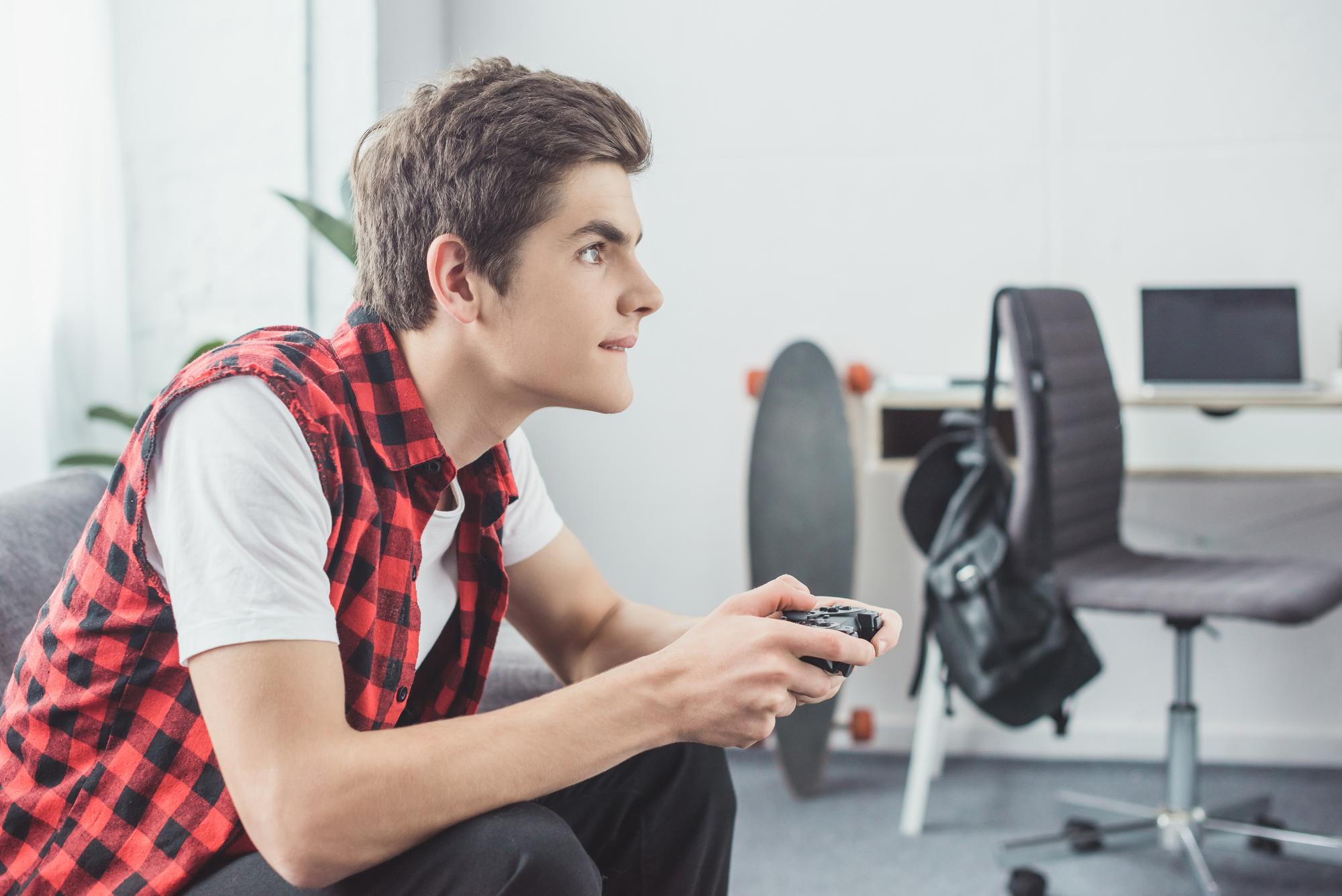 Videospil og spillekonsol